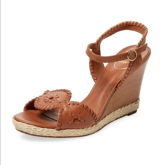 ab5269728320 Jack Rogers Shoes - NEW Jack Rogers wedges - Clare rope wedge